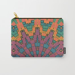 Sunset Mandala No. 1 Carry-All Pouch