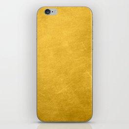 Sunshine Gold iPhone Skin