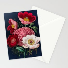 Flower garden III Stationery Cards