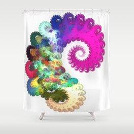 Draining The Whirlpool Shower Curtain