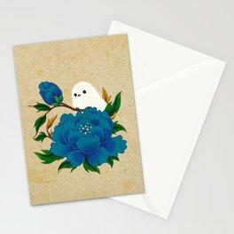 Minhwa: Crow-Tit and Peony C Type  Stationery Cards