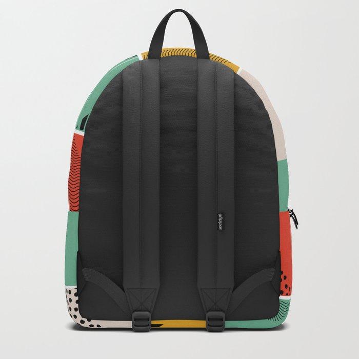 Blossom mosaic Backpack