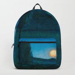 Nocturn a Llore - The Color of Night landscape by Benet Martorell Backpack