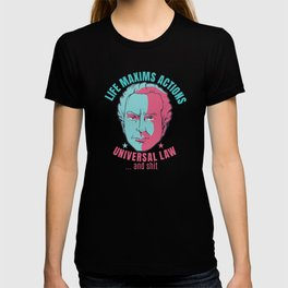KANT PHILOSOPHY FUNNY QUOTE T-shirt