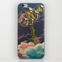 Homegirl Goes to Outer Space iPhone Skin