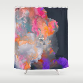Orage (Colorful clouds in the sky III) Shower Curtain