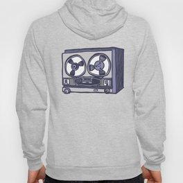 Vintage Tape Recorder Hoody