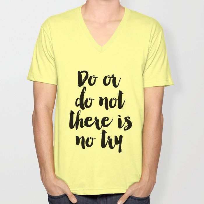 Do Or Do Not There Is No Try Yoda Inspirational Quote