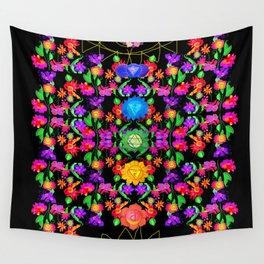 chakras Wall Tapestry