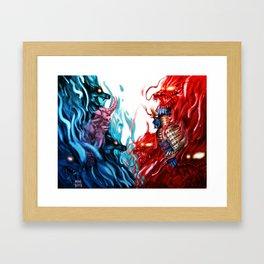 The Houses Framed Art Print