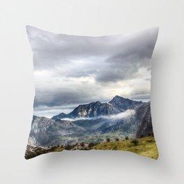 The Picos de Europa Throw Pillow