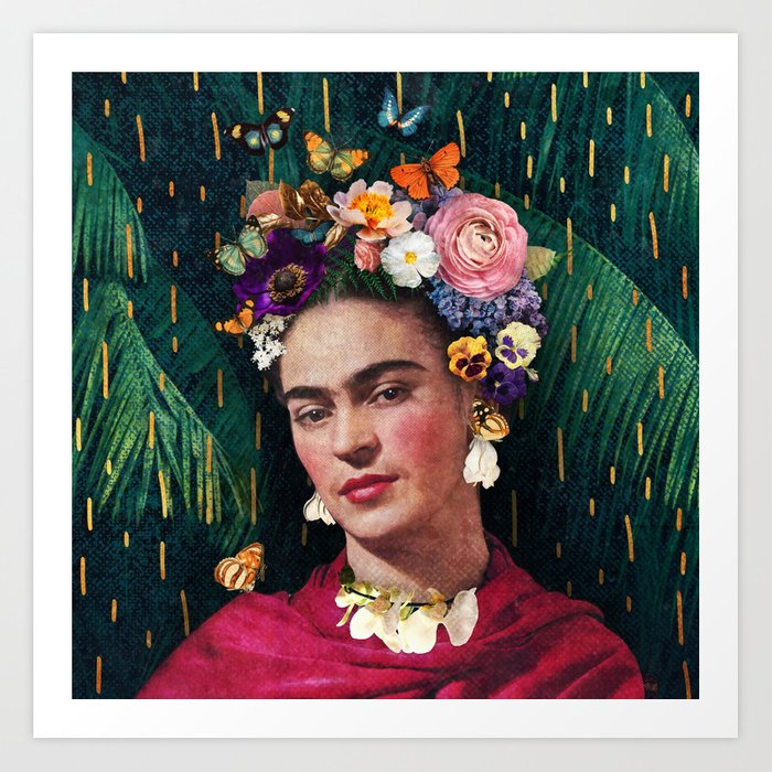 Frida Kahlo :: World Women's Day Art Print