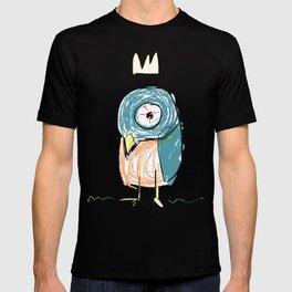Stressed out Little King Bird  T-shirt