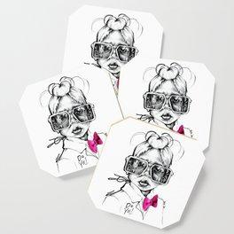 #STUKGIRL Penny Coaster