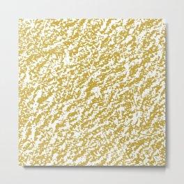 Gold Texture Metal Print