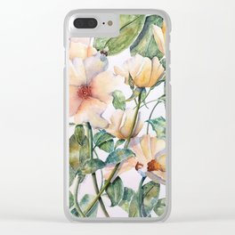 Bee Happy! Clear iPhone Case