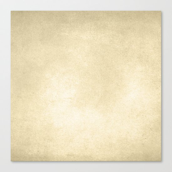 Simply Antique Linen Paper Canvas Print