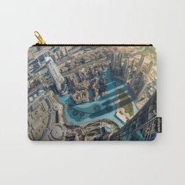 On top of the world, Burj Khalifa, Dubai, UAE Carry-All Pouch