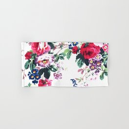 Bouquets with roses Hand & Bath Towel