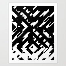 Shattered Hound Art Print