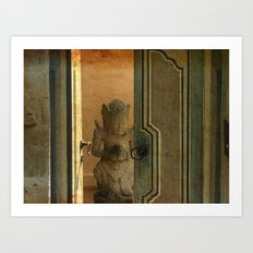 Leave the door opened Art Print