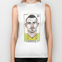 zlatan Biker Tanks featuring ZLATAN by BANDY