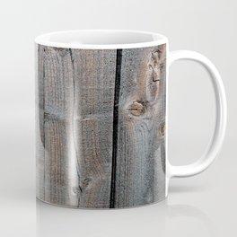 Brown Wood Panels Coffee Mug
