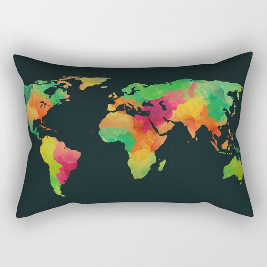 We are colorful Rectangular Pillow