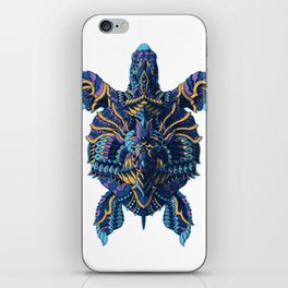 Sea Turtle (Color Version) iPhone Skin