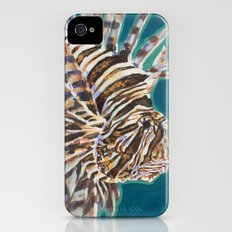 Red Lionfish iPhone (4, 4s) Slim Case