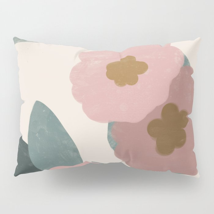 Simple Flowers Pillow Sham