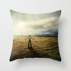 Acknowledging The Day Throw Pillow