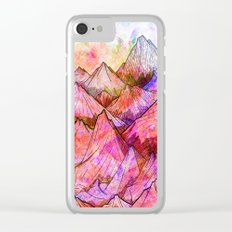 Peaks of Colours Clear iPhone Case