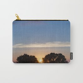 Sunset Between Trees Carry-All Pouch