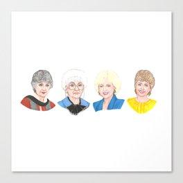 Golden Girls Canvas Print