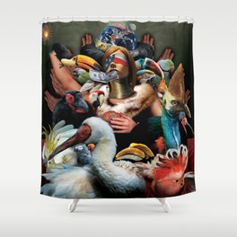 Menagerie (aka Mandala) Shower Curtain