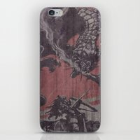 fight iPhone & iPod Skins featuring Fight by Last Call