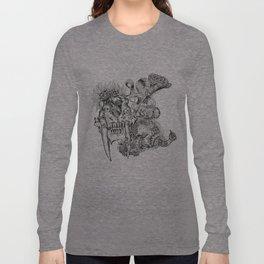 sabertooth & peacock Long Sleeve T-shirt