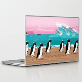 Penguins and Dolphins Laptop & iPad Skin