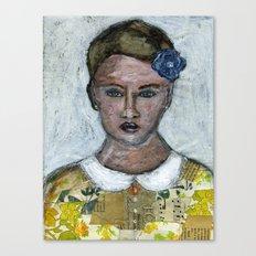 Flower Girl Canvas Print