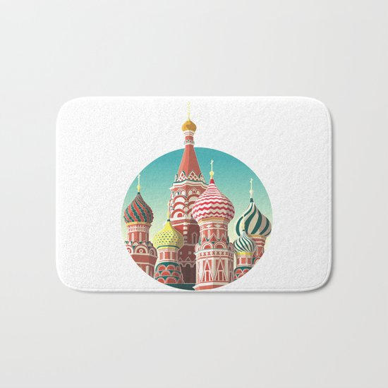 Saint Basil's Cathedral Bath Mat