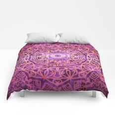 Mandala Pink Night Comforters