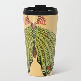green moth (ORIGINAL SOLD). Travel Mug