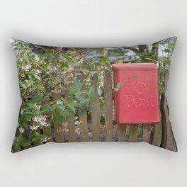 Post Box Rectangular Pillow