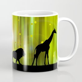 Africa Animals In The Magic Forest Coffee Mug