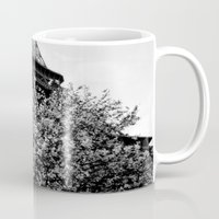 eiffel tower Mugs featuring Eiffel Tower by Msimioni