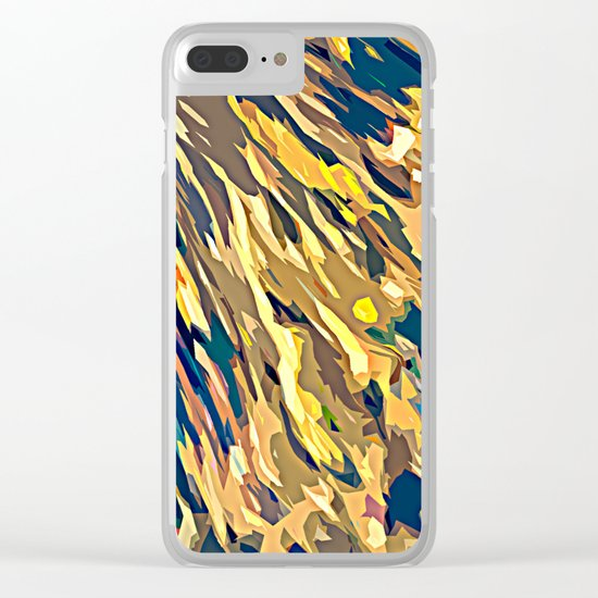 BOLD ABSTRACT Clear iPhone Case