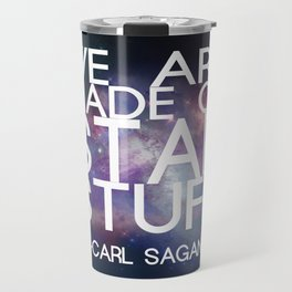 Carl Sagan Quote - Star Stuff Travel Mug