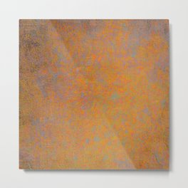 Abstract rusty texture Metal Print