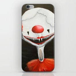 Coulrophobia iPhone Skin